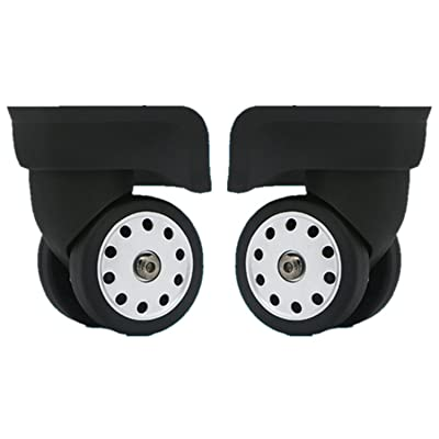 Liaozy888 Replacement Luggage Wheels W046# L Size (Di Long) Replacement Luggage Wheel/Wheels for suitcases (A Pair/Set) : Sports & Outdoors