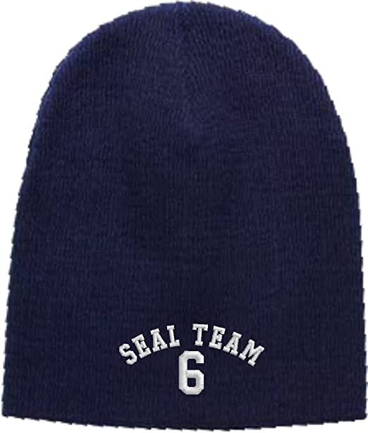 Image Unavailable. Image not available for. Color  Seal Team 6 Embroidered  Skull Cap ... d2fa8c0e4a49