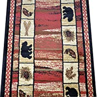 Dean Vogel Bear Lodge Cabin Bear Panel Carpet Runner Rug Size: 23 x 77