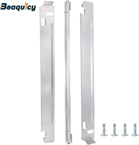 KSTK1 27-Inch Chrome Laundry Stacking Kit by Beaquicy - Replacement for LG Washers & Dryers.