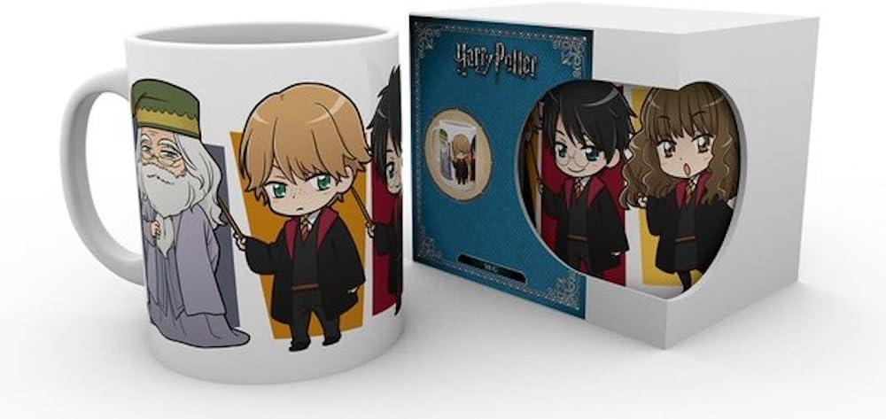 Harry Potter Kawaii - Taza de cerámica (320 ml): Amazon.es: Hogar