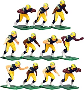 Green Bay Packers Home Jersey NFL Action Figure Set