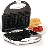 Elite Cuisine EWM-9008K Maxi-Matic Non-Stick Waffle Maker, White