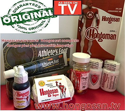 Hongosan Antifungal and Skin Fungus Rash Athletes Foot Skin and Nails by HONGOSAN CORP
