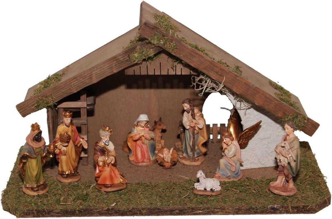 Pola 331995 Weihnachts-Krippe Stall