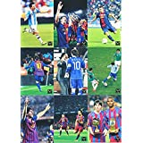 Lionel Messi Official Card Collection Amazing 100 Cards Set of the World's Biggest & Best Soccer Superstar Lionel Messi of FC Barcelona! Features Cards with Maradona, Xavi, Alves, Casillas & More!