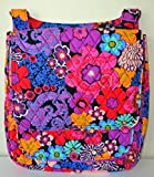 Vera Bradley Mailbag Cross-Body Bag (Floral Fiesta)