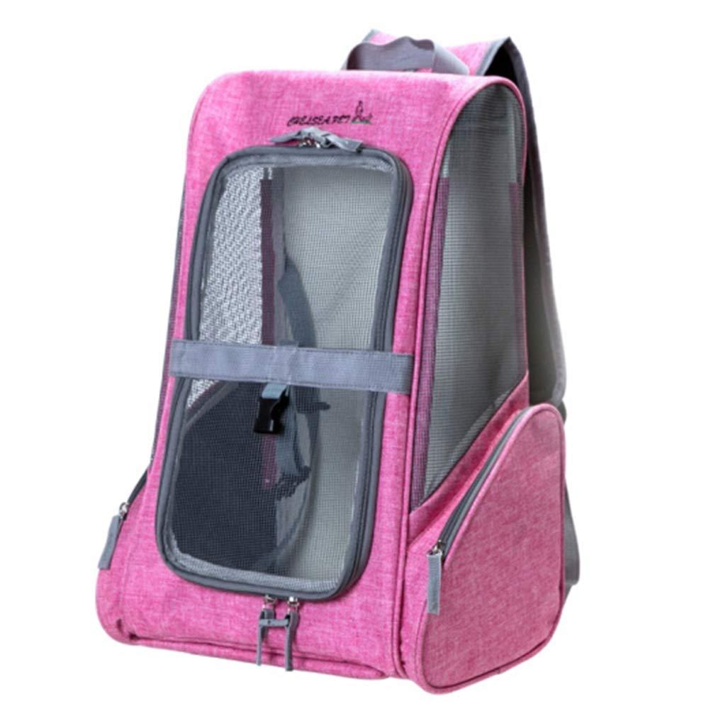 4 Pet bag out portable bag cage cat dog Foldable bag handbag breathable bag cat backpack Comfortable grid bag