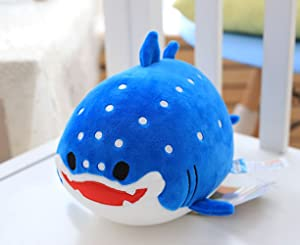 Garwarm Cute Stuffed Animals, Stuffed Whale Shark Plush Toy Soft for Kids Children, 8 Inch, 1 Piece