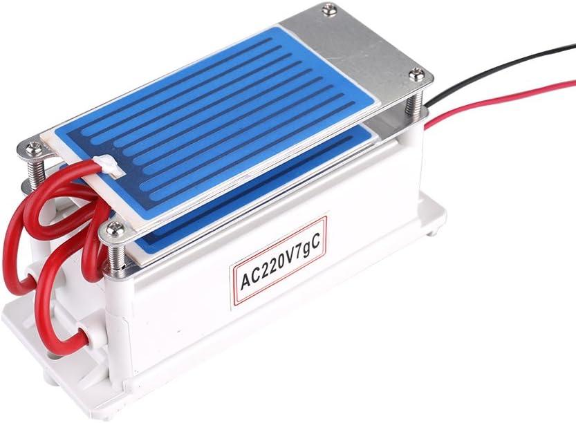 KKmoon Generador de Ozono 28g//h,Ozonizador,Publicador de Ozono,Publicador de Aire,Esterilizador