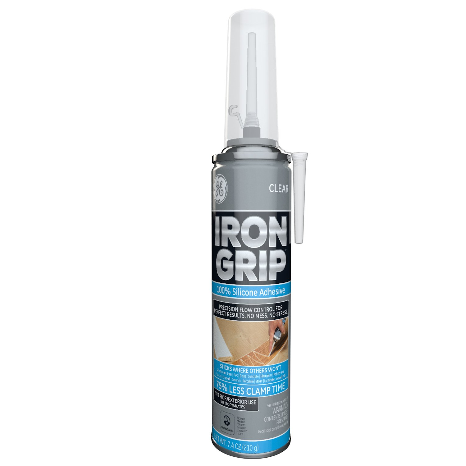 GE M90077 Point & Seal Iron Grip Adhesive 7.4 oz Point & Seal