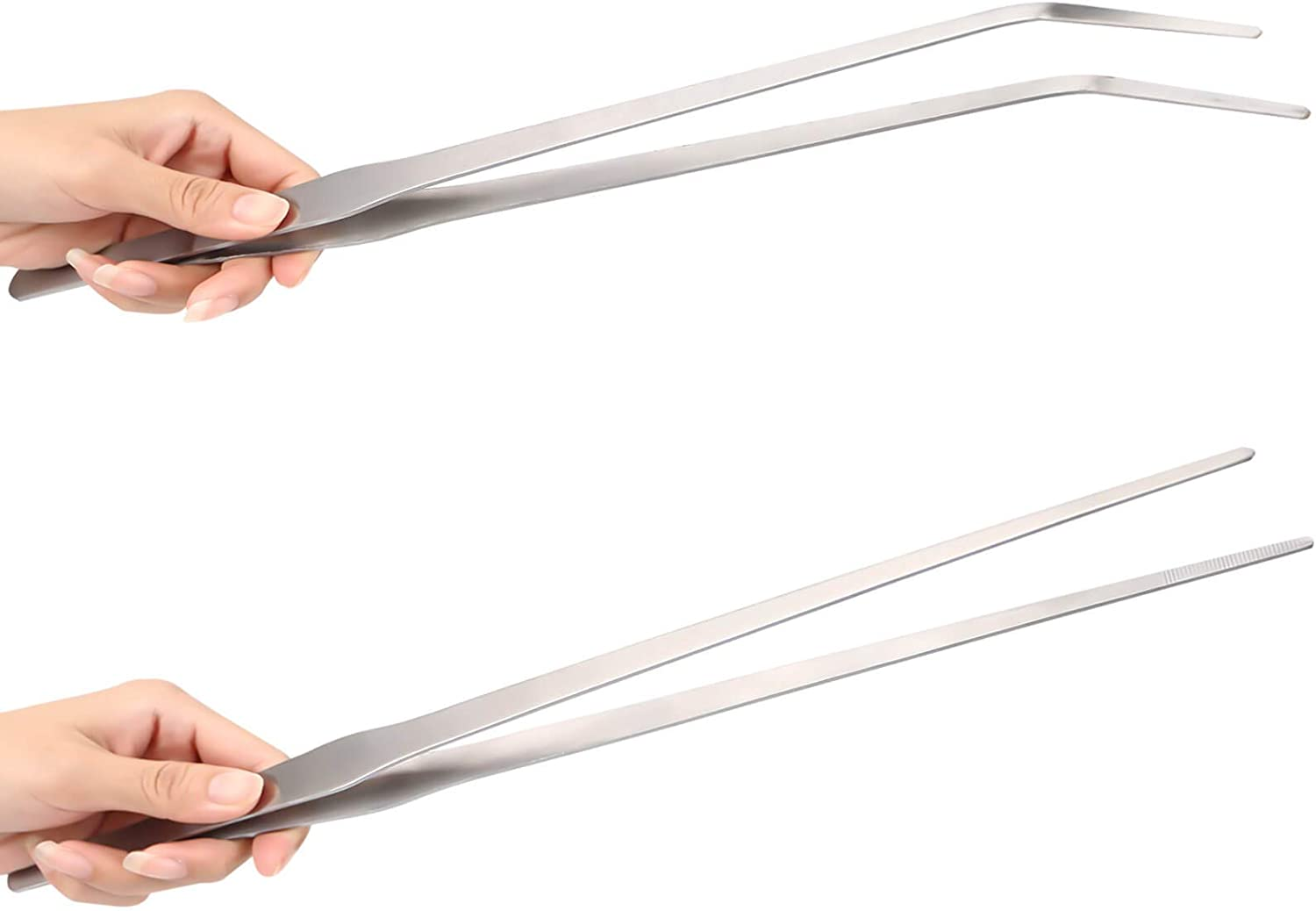 "unlumm Feeding Tongs 15"" 2 Pcs"