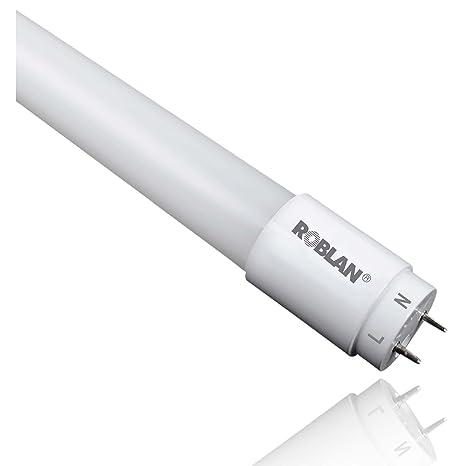 Roblan ECOTUBO1500 Tubo G13, 24 W, Blanco