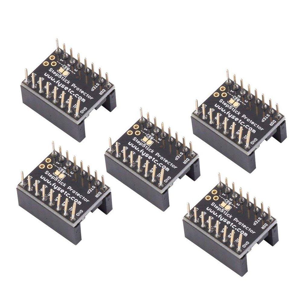 SODIAL 3D printer motherboard accessories, stepper motor driver TMC2100 eraser filter,for 3D Printer A4988 LV8729 DRV8825 TMC2100 TMC2208 TMC2130 Driver - 5 Pcs 165719