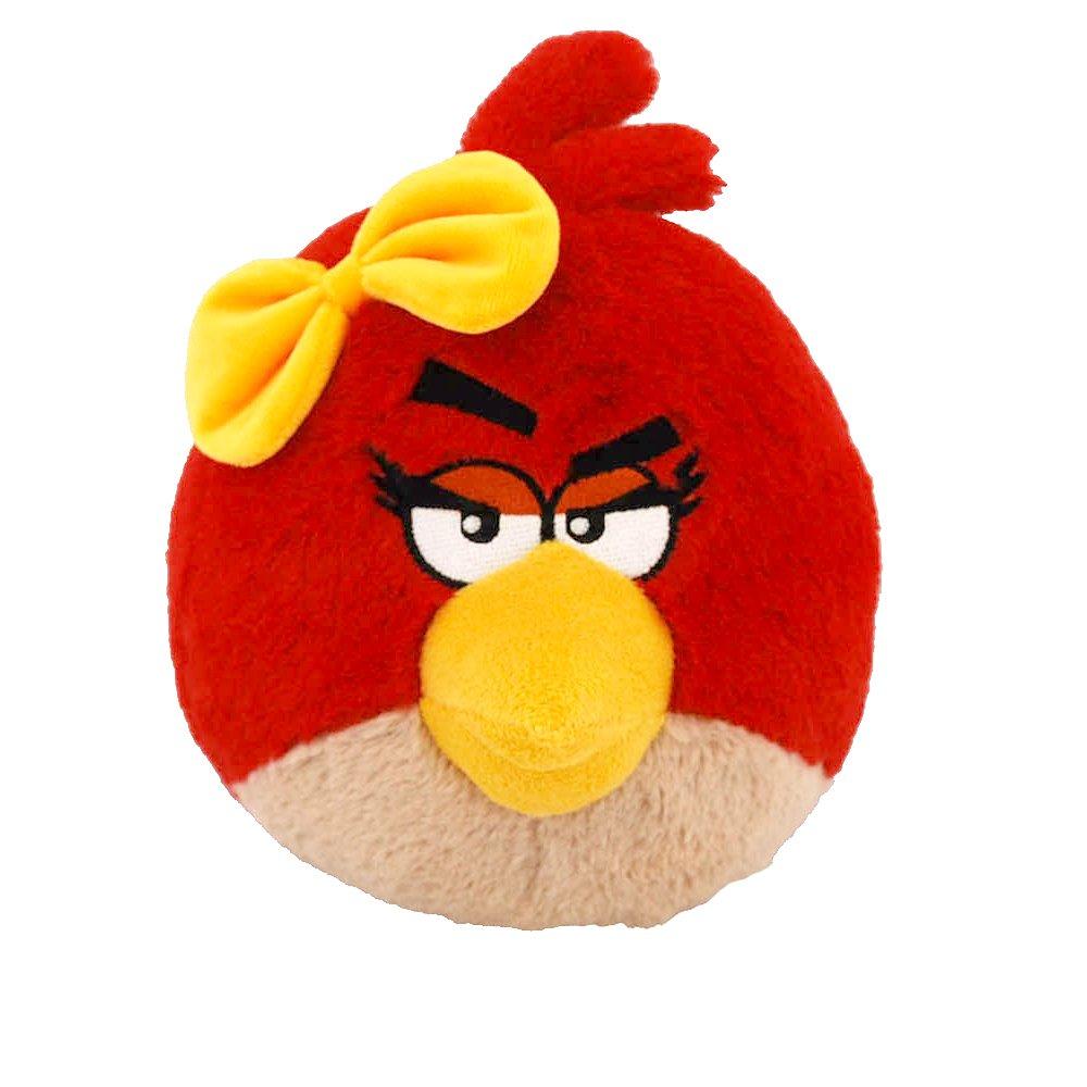 Con precio barato para obtener la mejor marca. Angry Birds Plush 5-Inch Girl Red Red Red Bird with Sound  diseño simple y generoso