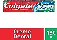 Creme Dental Colgate Tripla Ação Menta Original 180g Promo Tamanho Família 180g