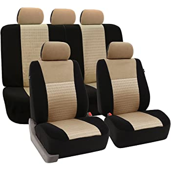 Masque 67226 Padova Tan Seat Cover Good