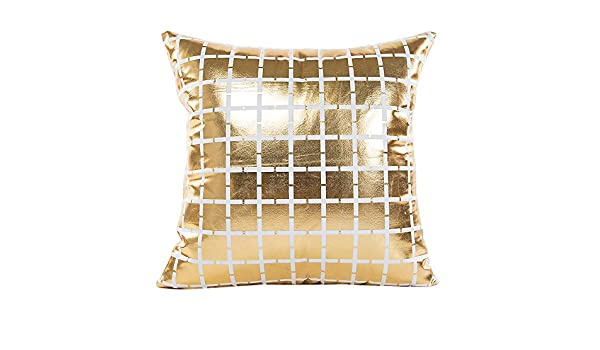 Kinlene Textura de mármol geométrica Throw Pillow Case Funda ...