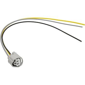 amazon com 1x connector temperature sensor for toyota 2jz 90980 2010 toyota connector pins michigan motorsports connector pigtail wire toyota 3 way ect, clt coolant temp sensor 90980 11451
