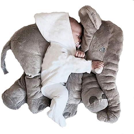 Amazon Com Xxl Giant Elephant Stuffed Animals Plush 60 Cm Toys Games