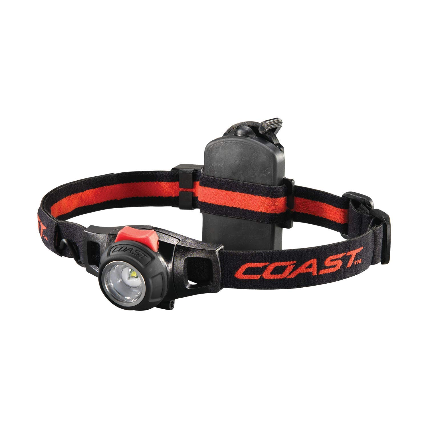 COAST HL7R 240 Lumen Rechargeable LED Headlamp with Twist Focus by Coast