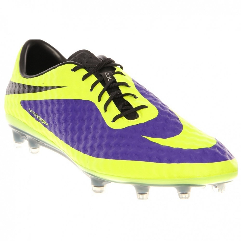 sale retailer 03f5f 264ff Nike Hypervenom Phantom FG Mens Football Boots 599843 Soccer Cleats (11 M  US, Electro Purple Volt Black 570)  Buy Online at Low Prices in India -  Amazon.in
