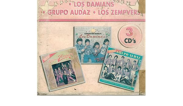 Grupo Audaz Y Los Zempvers Los Damians - Los Damians, Grupo Audaz Y Los Zempvers (Coleccion 3 CDs) CD-0501 - Amazon.com Music