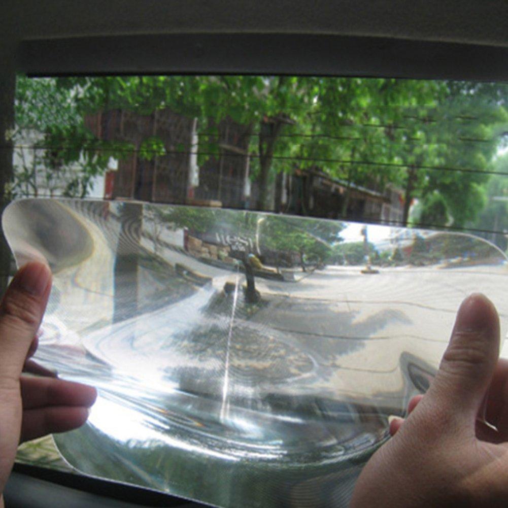 und R/ückfahrlinse f/ür Ihr Auto R/ückfahrscheibe selbstklebende Fresnel-Spiegelteile Free Size farblos Weitwinkel-Einpark