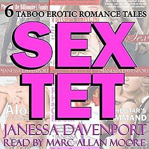 Sextet: Six Taboo Erotica Tales Audiobook