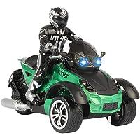 Toyvian Moto eléctrica de Alta Velocidad RC Moto