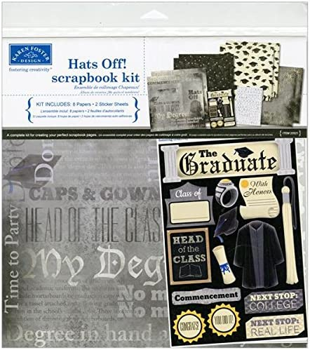 Karen Foster Military Life Design Themed Paper and Stickers Scrapbook Kit