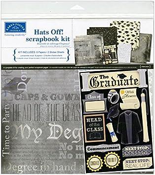KAREN FOSTER DESIGN THE GRADUATE SCHOOL GRADUATION CARDSTOCK SCRAPBOOK STICKERS
