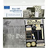 Karen Foster Design Themed Paper and Stickers Scrapbook Kit, Graduation
