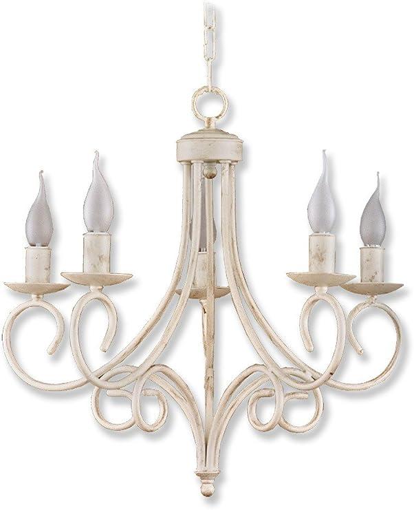 FACTORY MUEBLES - Lámpara de techo modelo Santader con cuatro ...