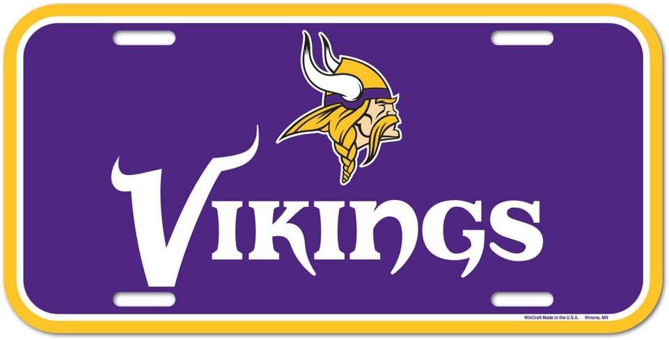 WinCraft NFL License Plate