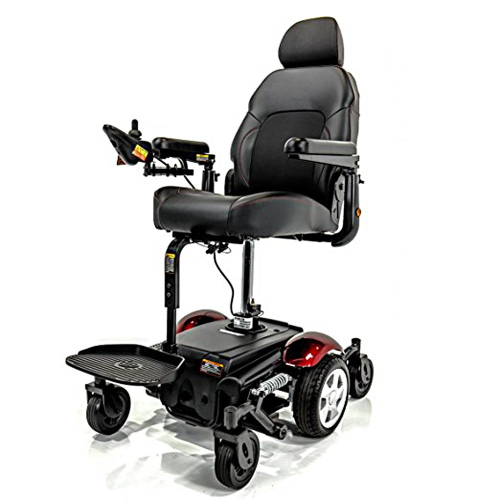 Merits Vision Sport Lift P326D Elevating Seat Electric Powerchair 18''W x 18''D 300lbs