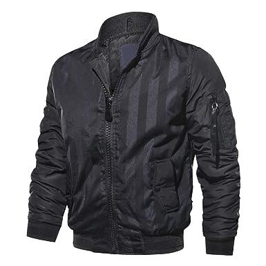 JMETRIC Herren Bomber Jacke Light Jacket Casual Langarm