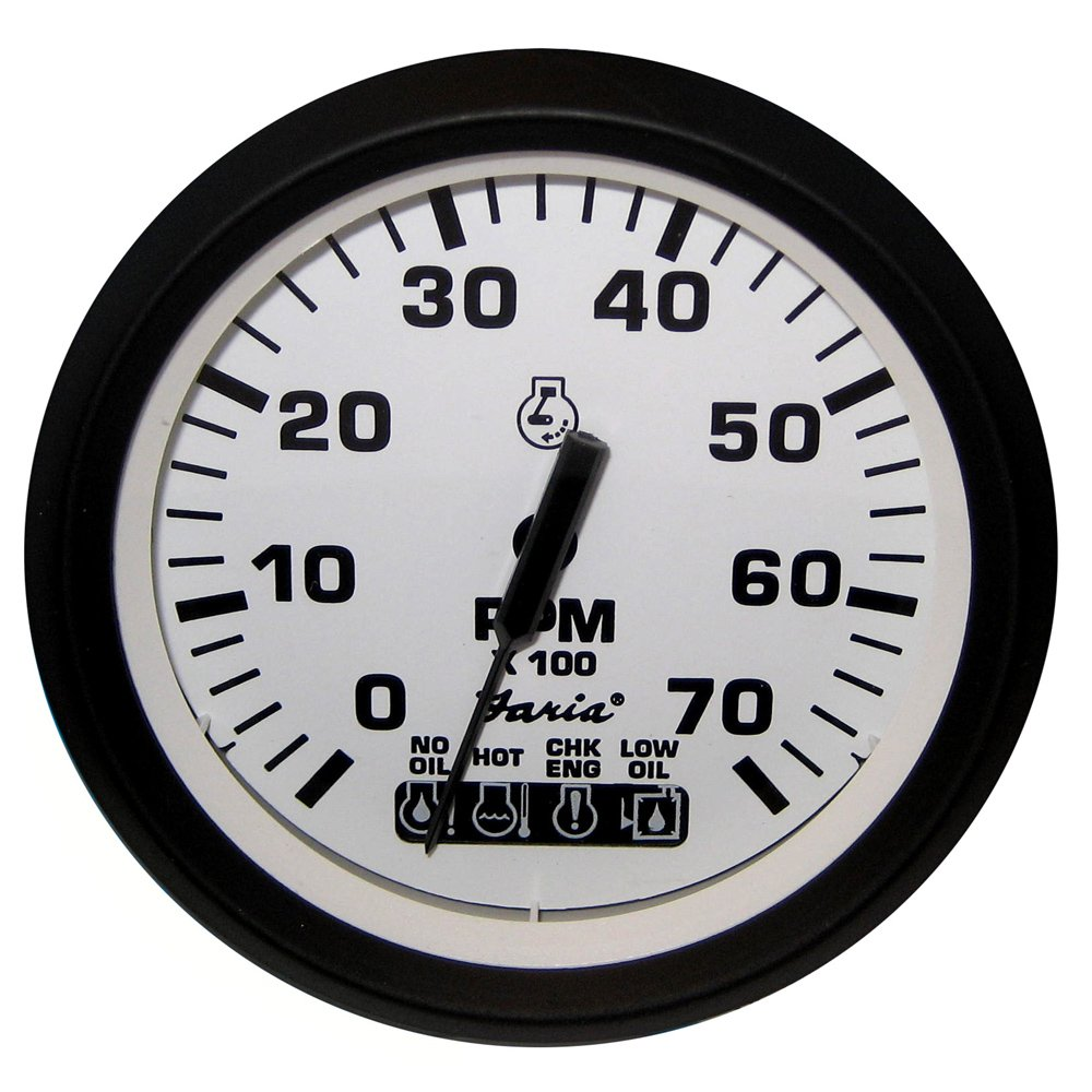 Amazon.com : EURO 7000 OMC SYSTEM CHECK Tachometer, White : Boating  Equipment : Sports & Outdoors