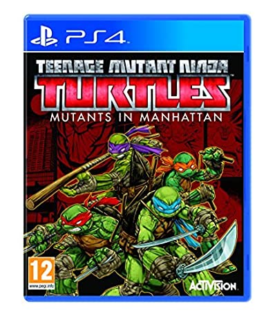 Teenage Mutant Ninja Turtles: Mutants in Manhattan (PS4) by ...
