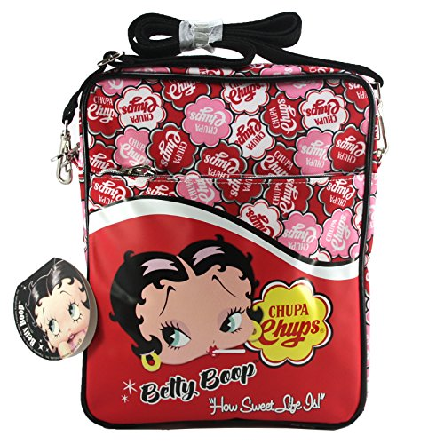 Betty Boop Porta Tablet IPad Ebook Custodia Scuola Tempo Libero Chupa Chup