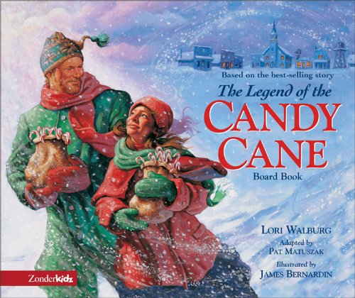 Legend of the Candy Cane Board Book, - Candy Cane Story