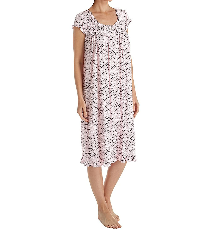 Nice Eileen West Womens Modal Waltz Heart Print Nightgown hot sale