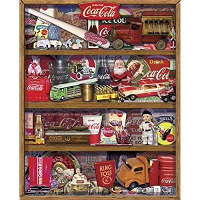 Springbok Coca Cola A Collection 1500 Piece Jigsaw Puzzle By Springbok