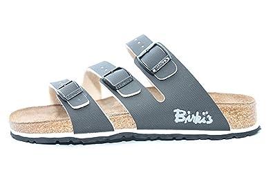aliexpress coupon code enjoy big discount Amazon.com | Birki's Bahia Black 3 Strap Sandals U.S. Width ...