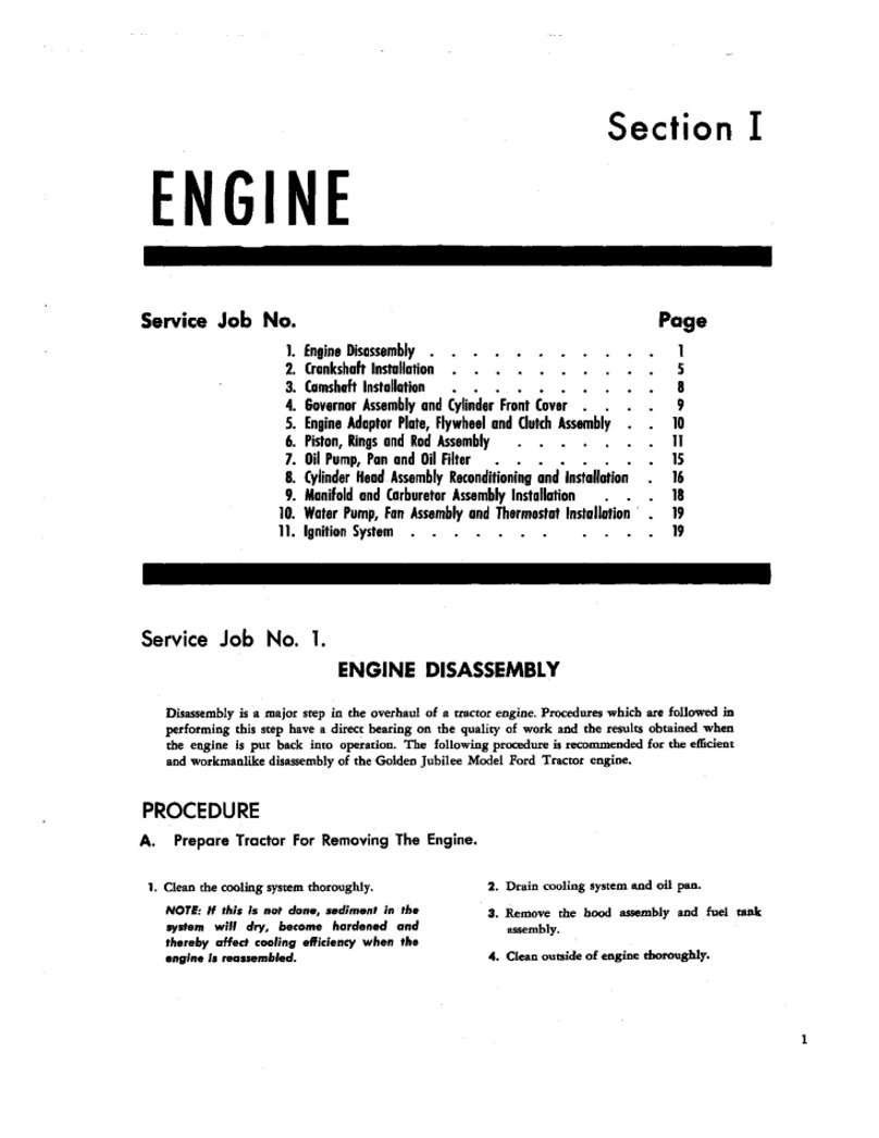 1953 1955 Ford Naa Tractor Large Manual Set Cd Version Golden Jubilee 12v Wiring Diagram Home Improvement