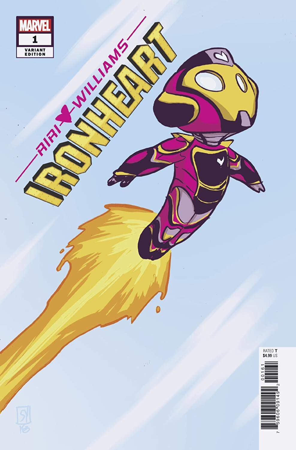 Ironheart #1 Young Variant (Marvel, 2018) NM
