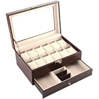 Doubleblack Caja para Guardar Relojes Expositor Joyero