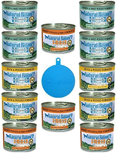Natural Balance LID Grain Free Dog Food in 3