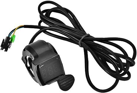 12 V - 99 V Ebike Scooter Acelerador con Pantalla LCD de Voltaje ...