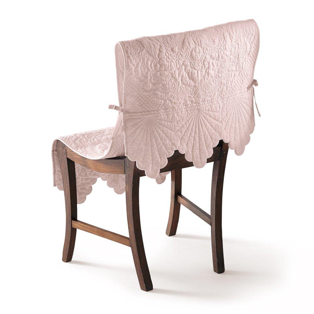 Rimmaリンマ 綿キルトチェアカバー(1枚) H30030(サイズはありません ウ:グレイッシュピンク(WEB) B079BKX9ZW ウ:グレイッシュピンク(WEB ウ:グレイッシュピンク(WEB